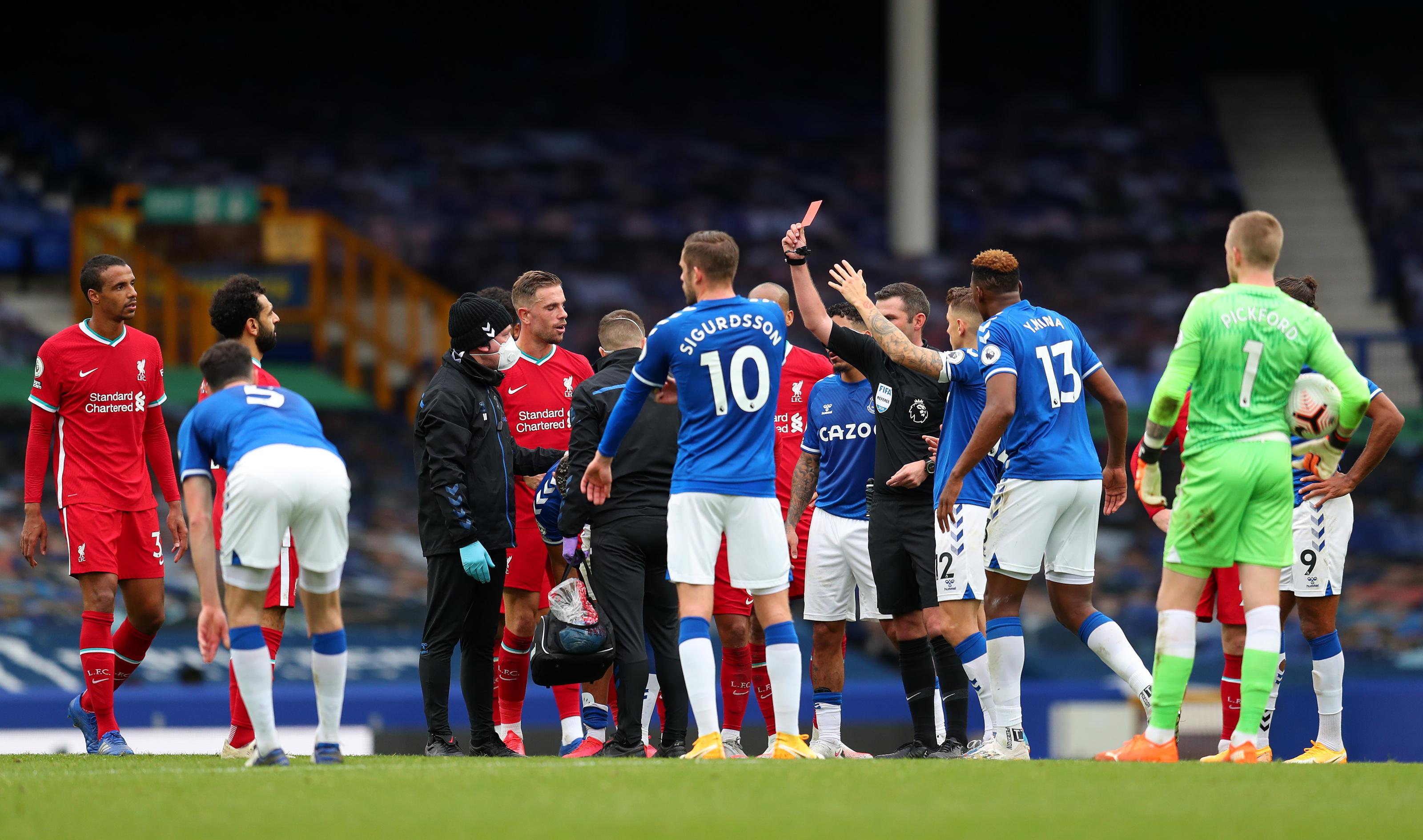 El derbi entre Everton y Liverpool terminó en empate (2-2)