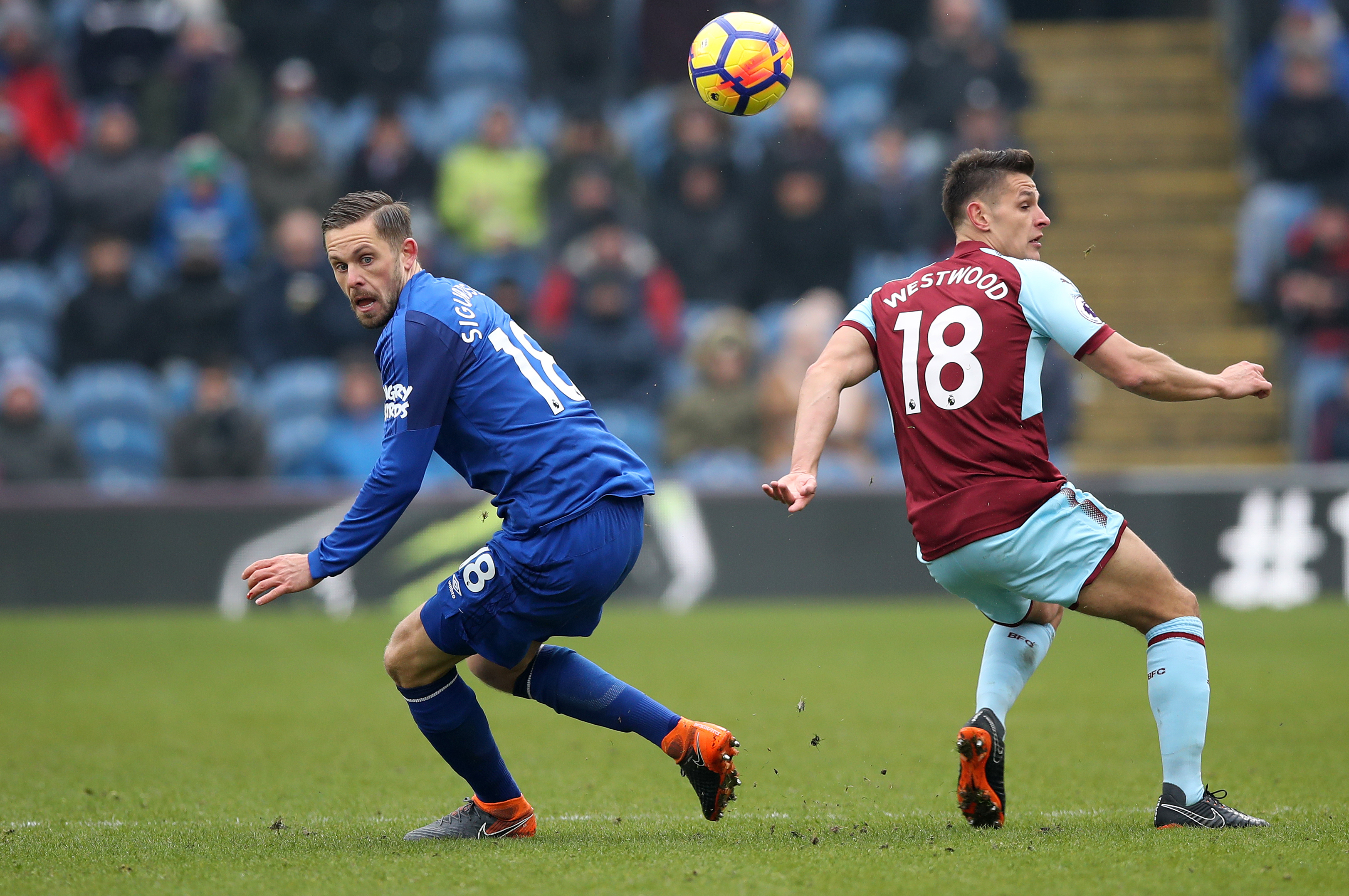 Burnley End Winless Streak With Comeback Victory Over Everton